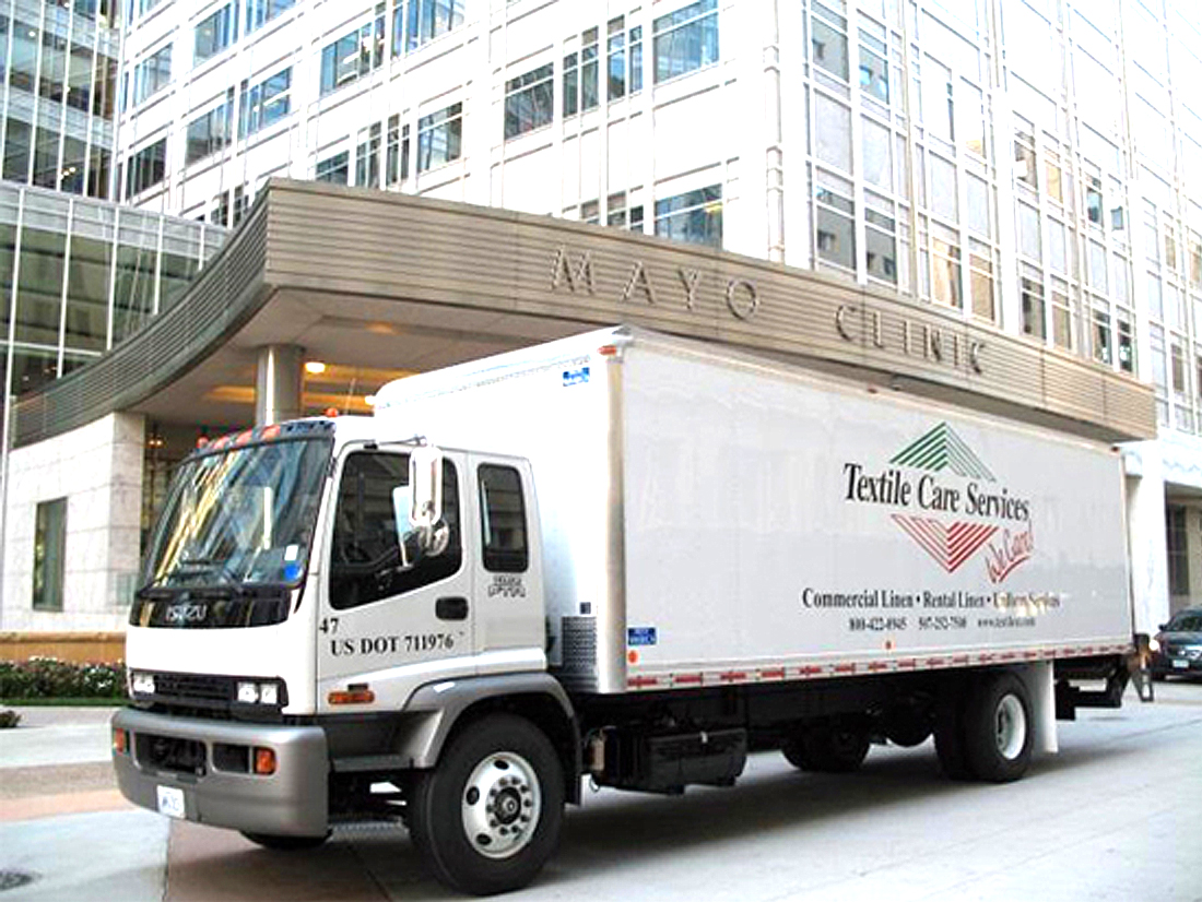 Textile Care Services - Midwest's leading provider of linen services for the healthcare industry